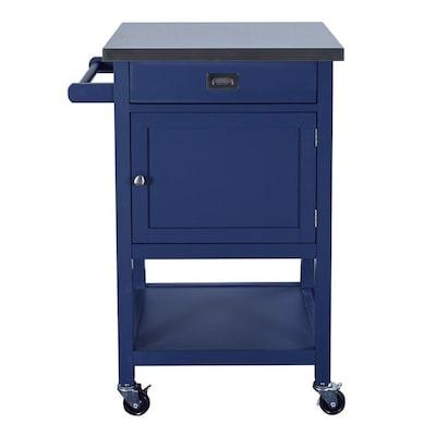 Blue Kitchen Islands Carts At Lowes Com