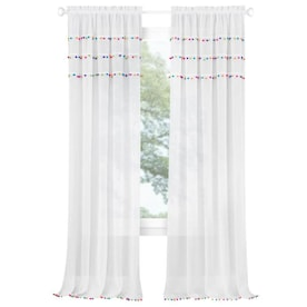 White Curtains & Drapes at Lowes.com