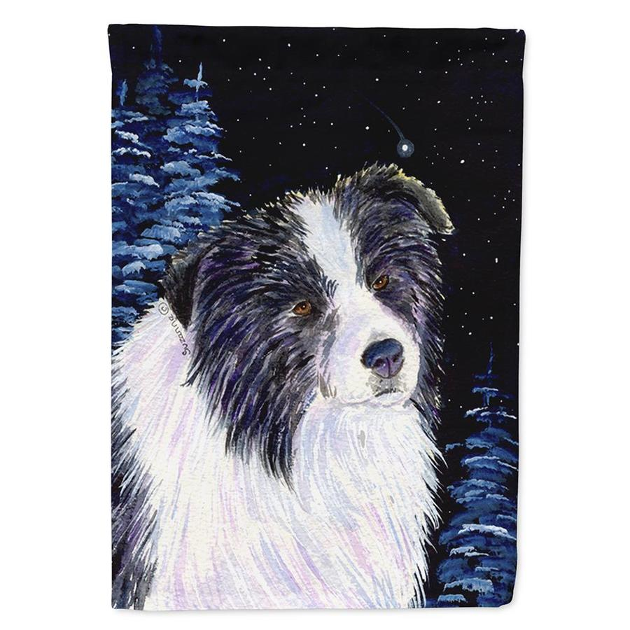 Caroline S Treasures 2 3 Ft W X 3 3 Ft H Dogs House Flag In The Decorative Banners Flags Department At Lowes Com