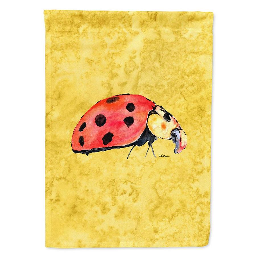 Caroline S Treasures 0 96 Ft W X 1 25 Ft H Bugs Garden Flag In The Decorative Banners Flags Department At Lowes Com