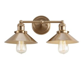 Jonathan Y Transitional 2 Light Bronze Modern Contemporary Vanity Light In The Vanity Lights Department At Lowes Com