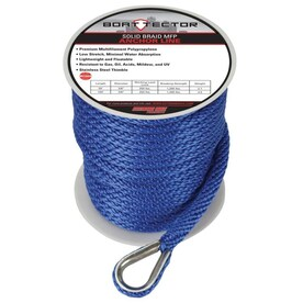 Anchor LikeTillman Cable Cover Side Split Leather 6 In x 100 ft Snaps Open Box