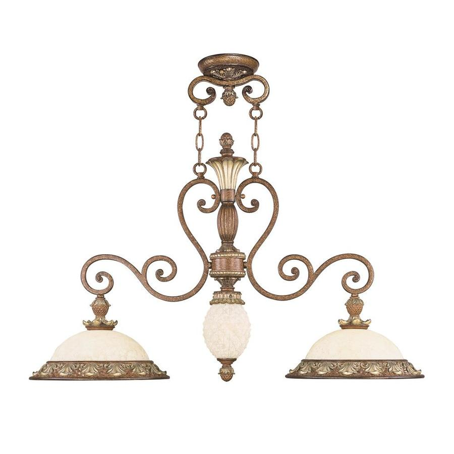 Livex Lighting Savannah 3 Light Venetian Patina Traditional Chandelier In The Chandeliers Department At Lowes Com