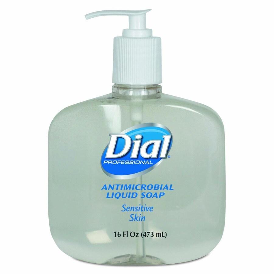 Dial 12-Pack 16-oz Antibacterial Pleasant Hand Soap