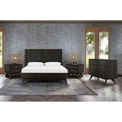Brown Contemporary Modern Bedroom Sets At Lowes Com