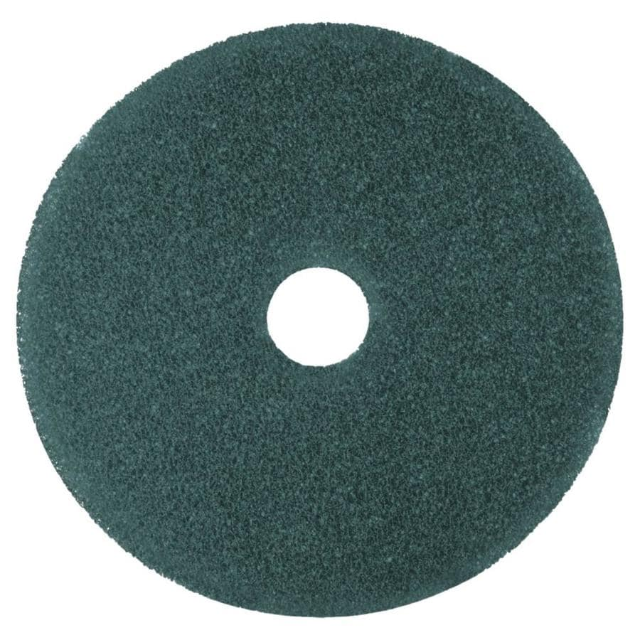 "New Damaged Box Case of 5 20/"" Diameter Blue 3M Cleaner Floor Pad 5300"