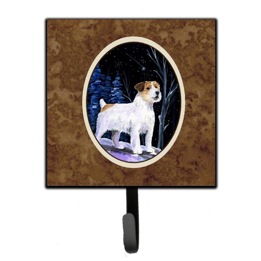 Carolines Treasures SS8193SH4 Scottish Terrier Leash Holder or Key Hook Multicolor Small