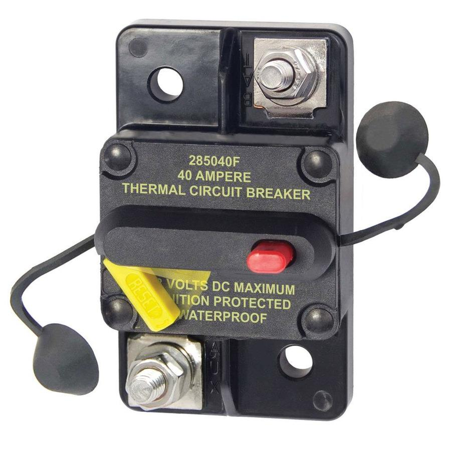Blue Sea Systems Circuit Breaker 40 Amp Surface in the RV ...