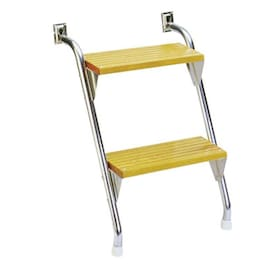 Garelick Eez In Under Platform Double Tube Telescoping Dive Ladder In The Rv Accessories Department At Lowes Com