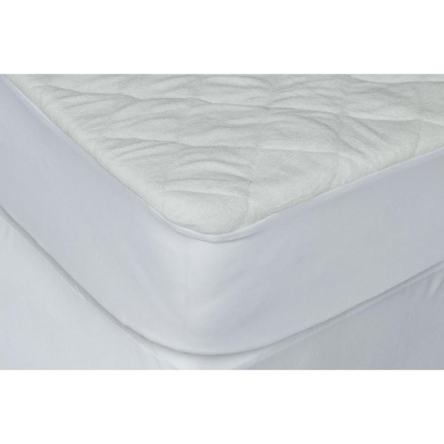 Baby Works Quilted And Fitted Bamboo Crib Mattress Protector White