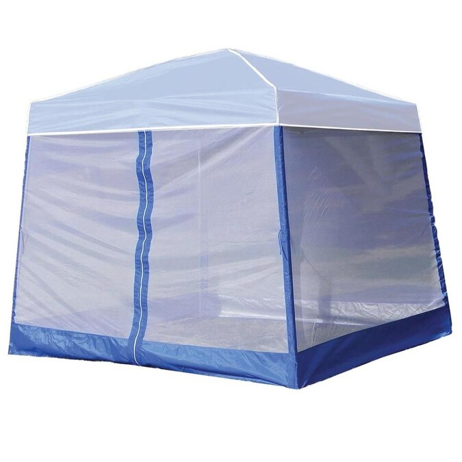 Z Shade 10 X 10 Foot Outdoor Portable White Canopy Tent