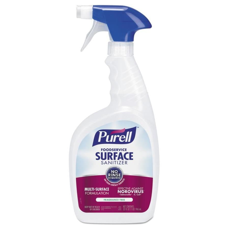 Purell 3 Pack 32 Fl Oz Unscented Disinfectant All Purpose Cleaner In The All Purpose Cleaners Department At Lowes Com