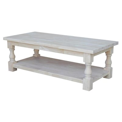 Unfinished Wood Coffee Table At Lowes