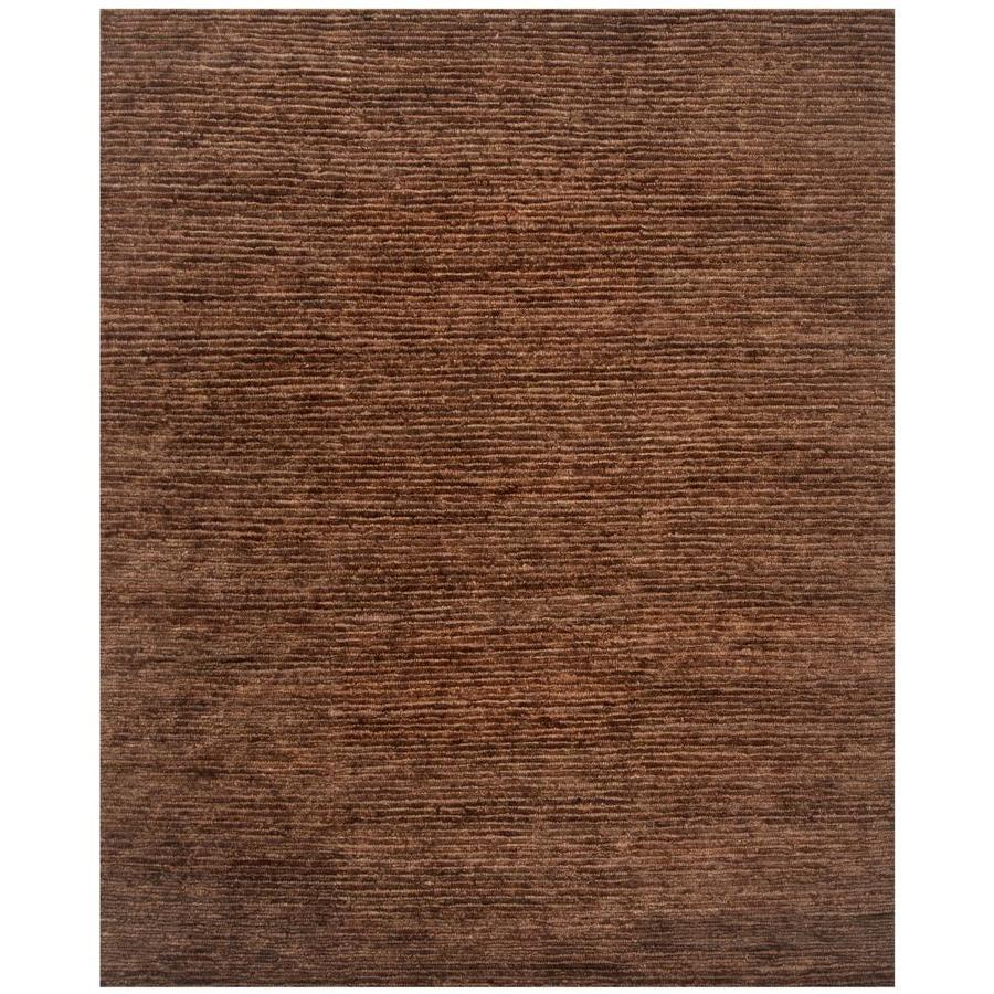 Safavieh Organica Alva 6 X 9 Brown Brown Handcrafted Area Rug In The Rugs Department At Lowes Com