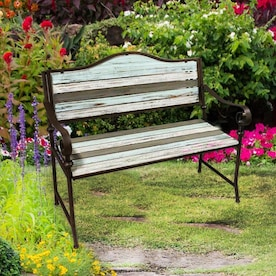Wrought Iron Patio Benches At Lowes Com