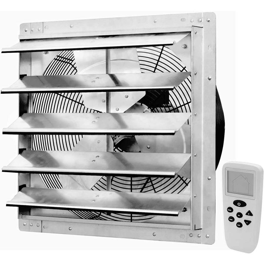 Iliving 18 Inch Variable Speed Shutter Exhaust Fan Wall-Mounted 18/""