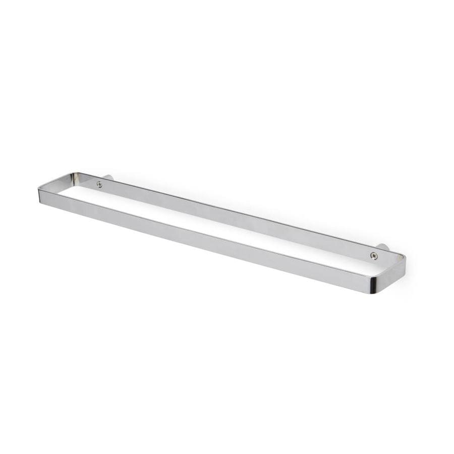Umbra Scillae 20 In Chrome Wall Mount Double Towel Bar In The Towel Bars Department At Lowes Com
