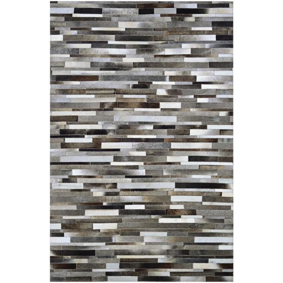 Couristan Chalet 8 X 11 Naturals Indoor Stripe Handcrafted Area Rug In The Rugs Department At Lowes Com