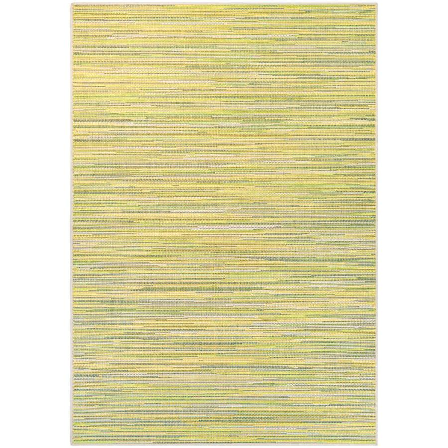 Couristan Monaco 2 X 3 Sand Sea Mist Indoor Outdoor Stripe Area Rug In The Rugs Department At Lowes Com