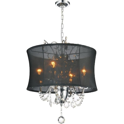 Cwi Lighting Charlotte 4 Light Chrome