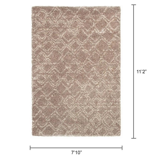 Couristan Bromley 7 X 11 Camel Ivory Indoor Floral Botanical Area Rug In The Rugs Department At Lowes Com