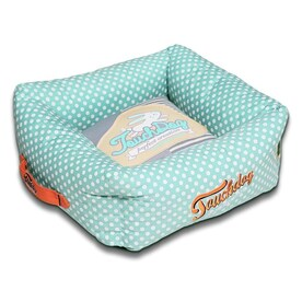 Pet Life Blue Plaid Nylon Fleece Rectangular Dog Bed X Small In The Pet Beds Department At Lowes Com