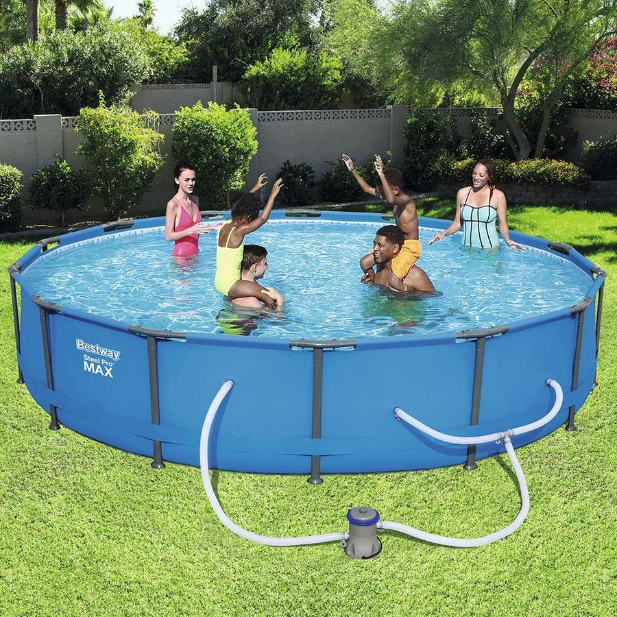 14 Ft X 33 In Round Above Ground Pool