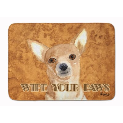 Carolines Treasures KJ1222MAT German Shepherd Wipe your Paws Indoor or Outdoo...