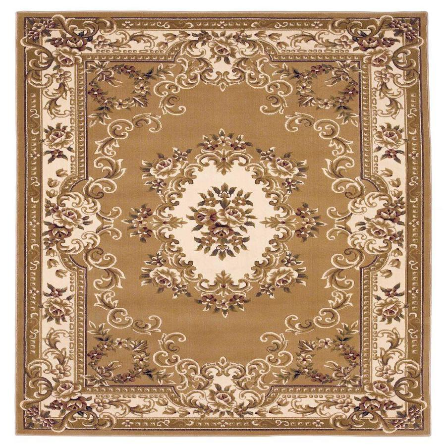 Homeroots Bernadette 2 X 3 Beige Ivory Indoor Border Area Rug In The Rugs Department At Lowes Com