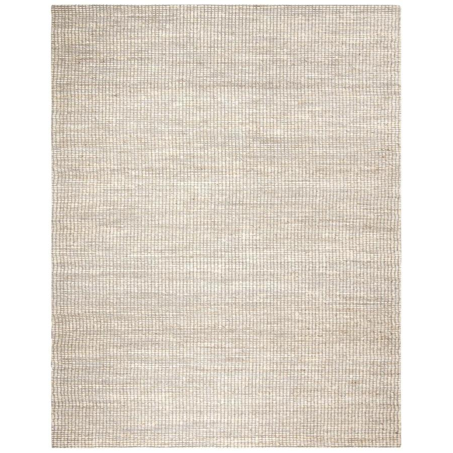 Safavieh Marbella Antonella 10 X 14 Ivory Indoor Abstract Coastal Handcrafted Area Rug In The Rugs Department At Lowes Com