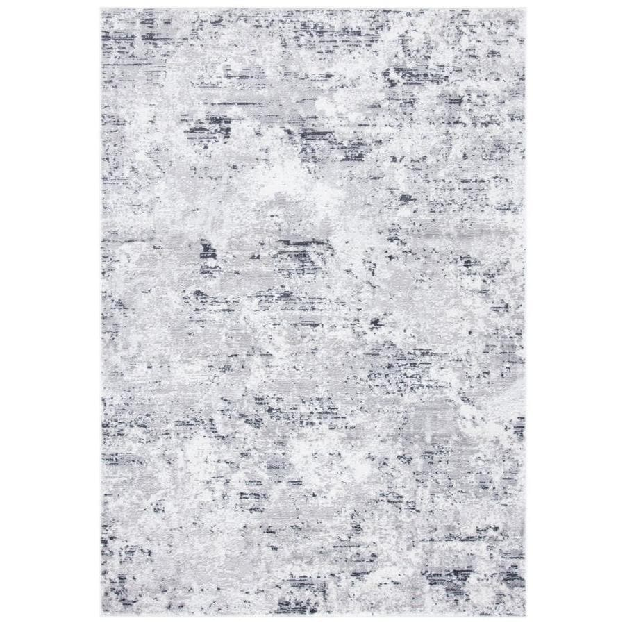 Safavieh Amelia Marche 6 X 9 Gray Ivory Indoor Abstract Area Rug In The Rugs Department At Lowes Com