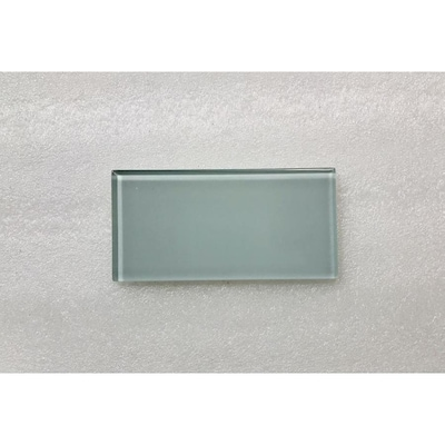 Abolos Metro Catherine Blue Glossy 3 In X 3 In Glossy Glass Subway Wall Tile Sample In The Tile Samples Department At Lowes Com