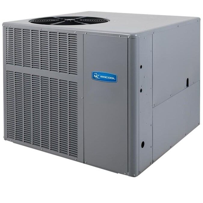 Mrcool Signature Series Heat Pump Package Residential 2 5 Ton 14 Seer Central Air Conditioner In The Central Air Conditioners Department At Lowes Com