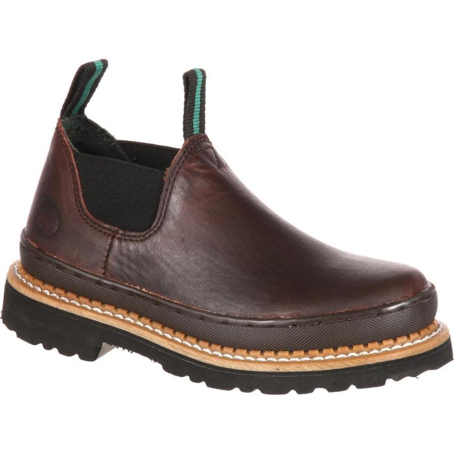 Georgia Boot Size: 4.5 Kids Steel Toe