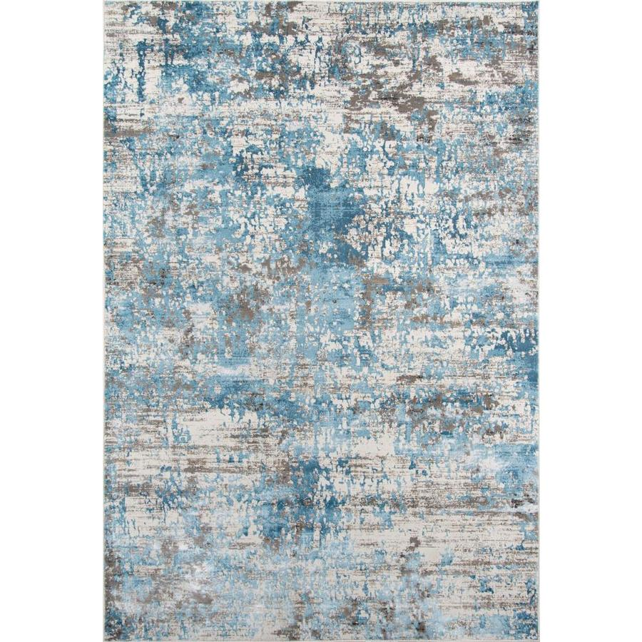 Momeni Juliet 2 X 3 Blue Indoor Distressed Overdyed Vintage Area Rug In The Rugs Department At Lowes Com