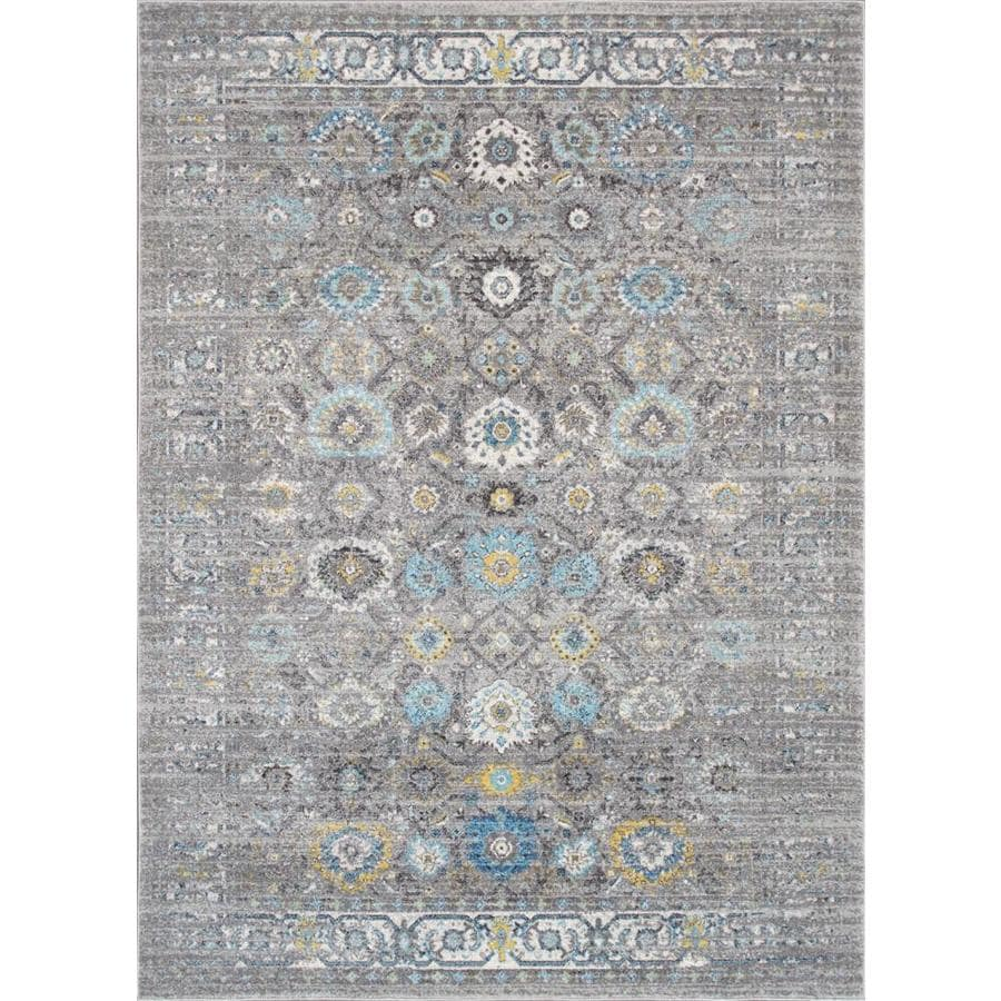 Pasargad Home Chelsea 9 X 12 Indoor Floral Botanical Area Rug In The Rugs Department At Lowes Com