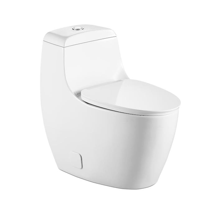 Casainc White D Shape Heated Bidet Toilet Seat In The Toilet Seats Department At Lowes Com