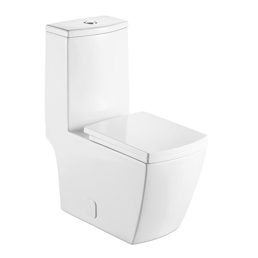 Casainc White D Shape Slow Close Heated Bidet Toilet Seat In The Toilet Seats Department At Lowes Com