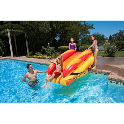 4 Products In Inflatable Slide Pool