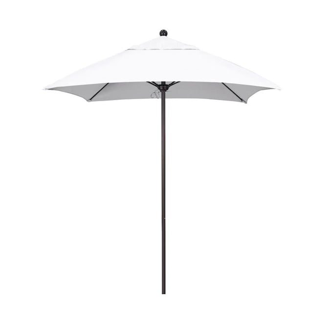 California Umbrella 6 Ft Square Natural
