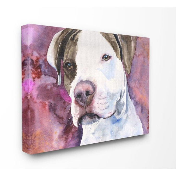 Bull Painting,Animal Painting Large Painting,Pit Bull Art Painting,Bull Art Decor,Contemporary Wall Art,Modern Canvas Oil Painting