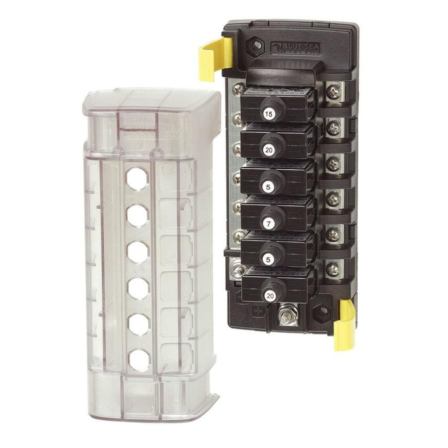 Blue Sea Systems ST CLB Circuit Breaker Block  40 Position with ...