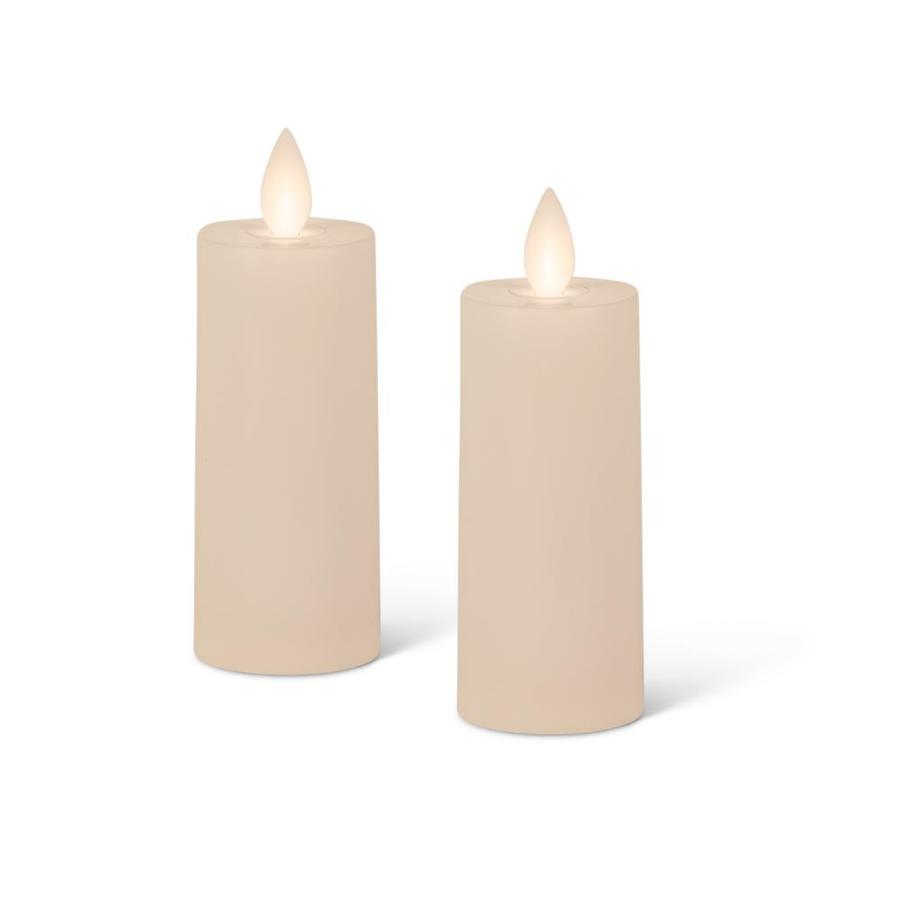 Everlasting Glow Home Two Sets Of 2 Indoor Outdoor Resin Led Motion Flame Votive Candles In The Candles Department At Lowes Com