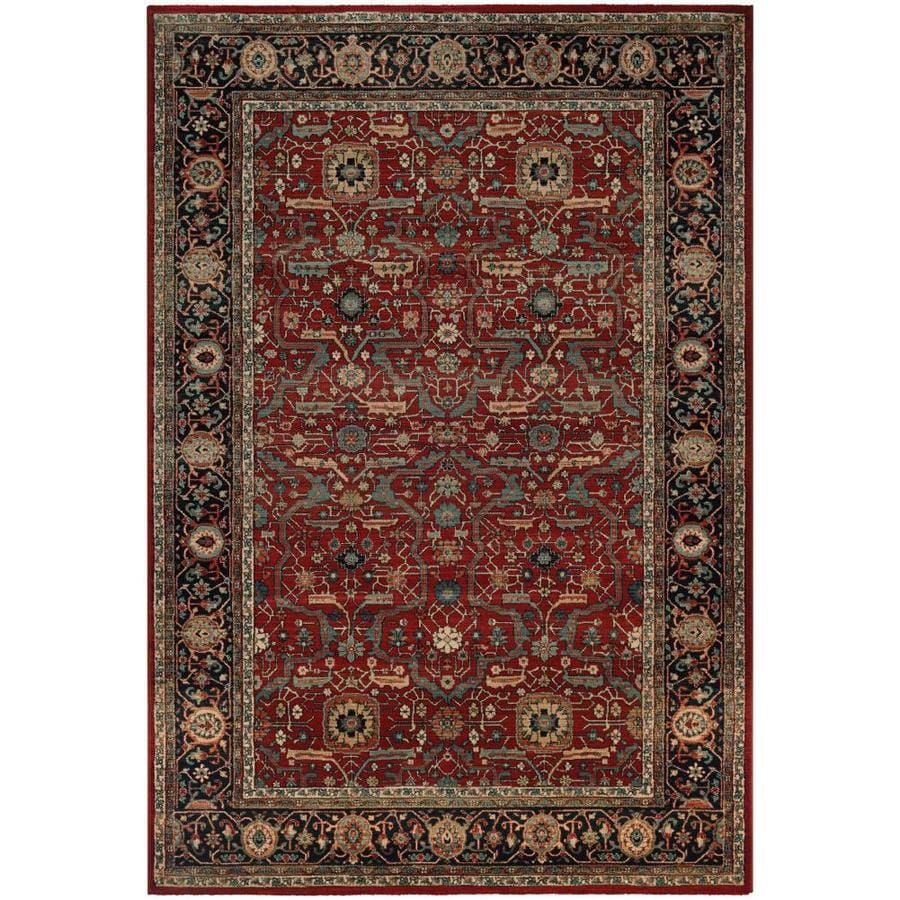 Couristan Old World Classics 9 X 13 Rust Navy Indoor Area Rug In The Rugs Department At Lowes Com