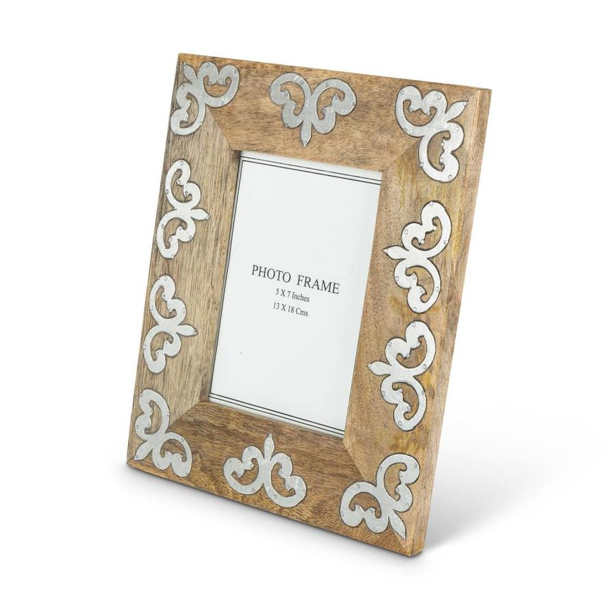 The Gg Collection Heritage Collection Brown Picture Frame 5 In X 7 In In The Picture Frames Department At Lowes Com