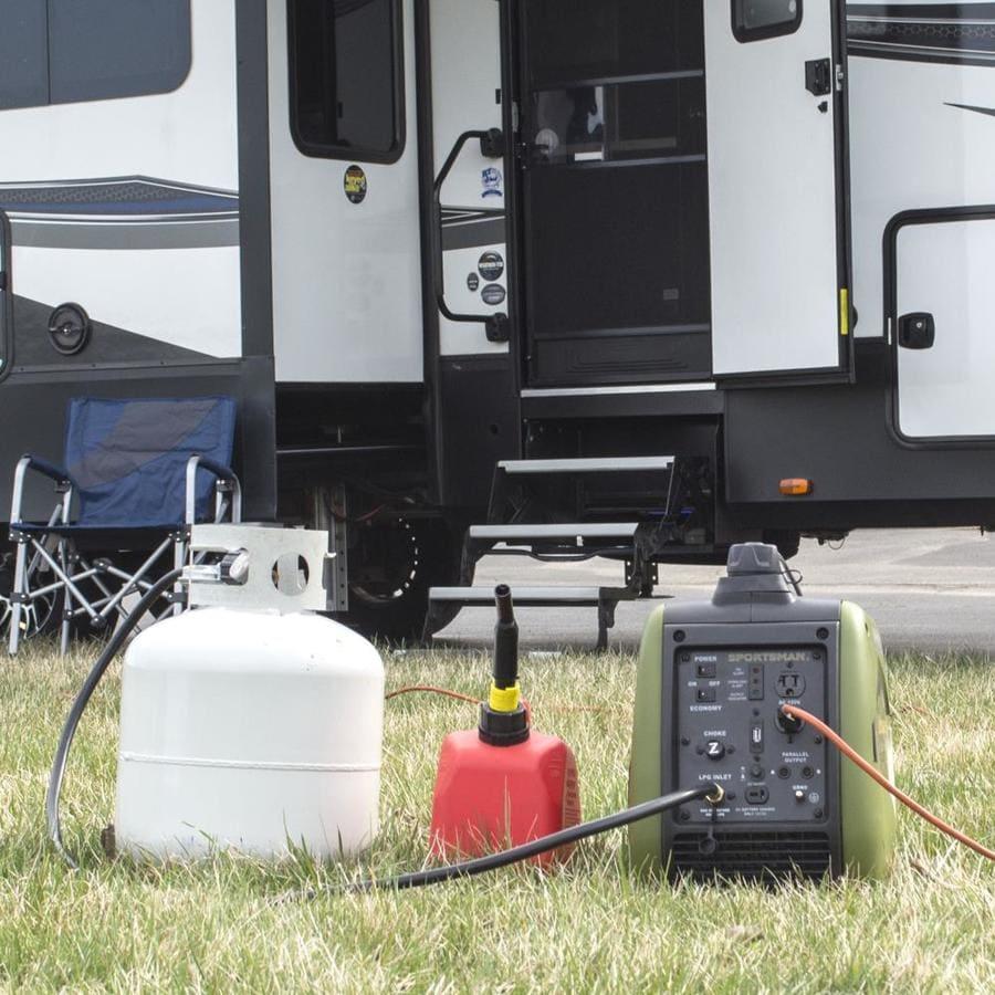 Sportsman Sportsman 2200 Watt Gasoline Propane Portable Generator In The Inverter Generators Department At Lowes Com