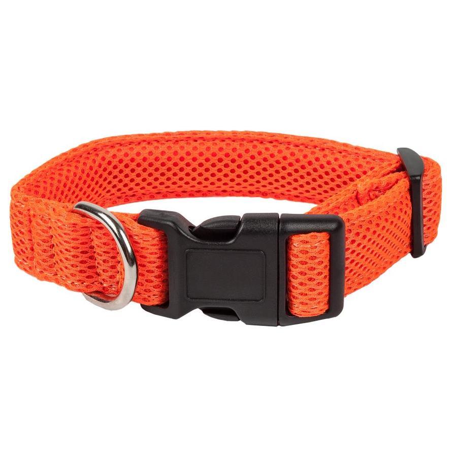 Pet Life Orange Dog Collar Medium In The Pet Collars Harnesses Department At Lowes Com