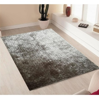Rugs Fuzzy Gy Hand Tufted Area Rug