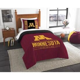 modern Take Series 102 X 86 Northwest Michigan Wolverines Ncaa King Comforter Set