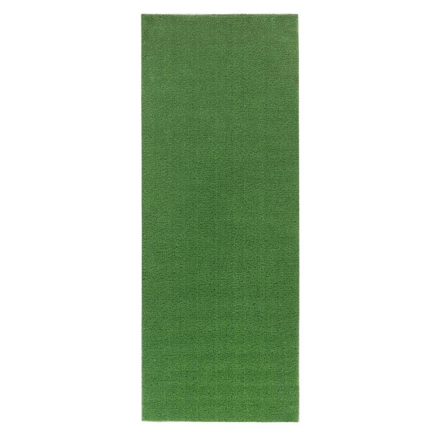 Ottomanson 5 Ft X 2 Ft Indoor Or Outdoor Artificial Grass Runner Rug In The Pre Cut Artificial Grass Department At Lowes Com